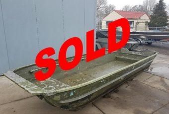 Ex Military alu Workboat Sold