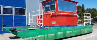 Used Aluminium Multipurpose Catamaran Workboat Pile boat